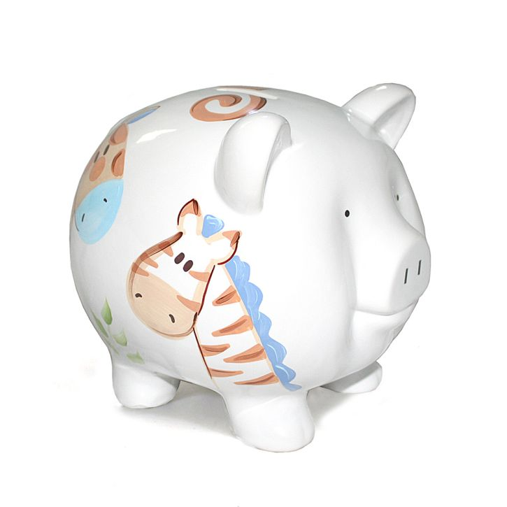 Child to Cherish Jungle Jack Piggy Bank