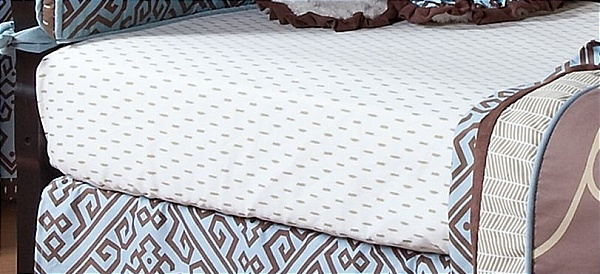 Cocalo Couture Corlu Fitted Crib Sheet
