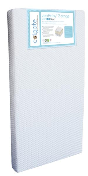Colgate zenBaby 2-Stage Crib Mattress with KulKote