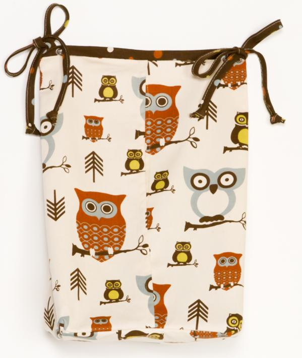 Cotton Tale Designs Whooo's There? Diaper Stacker