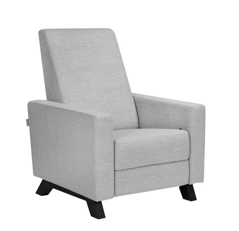 Dutailier Comfort Recliner Classico in Grey Tweed