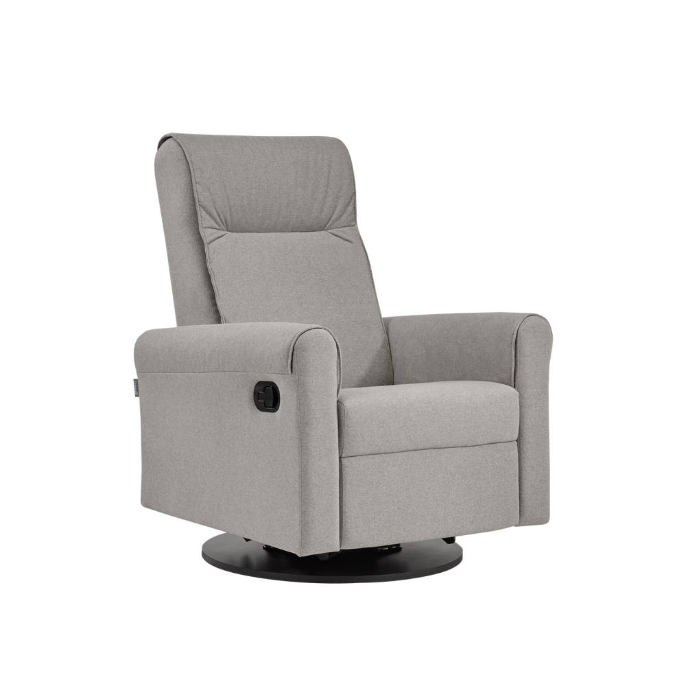 Dutailier Nolita Swivel Glider Recliner in Grey