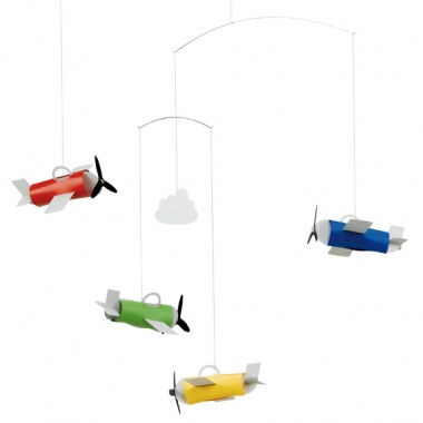 Flensted Mobiles Aeromobile Hanging Nursery Mobile