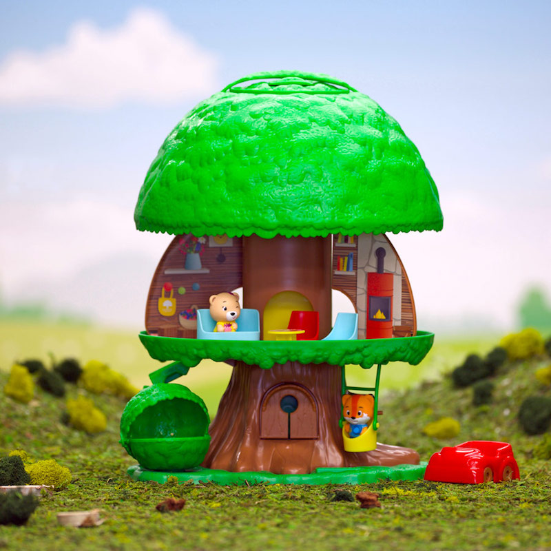 Fat Brain Toys Timber Tots Tree House