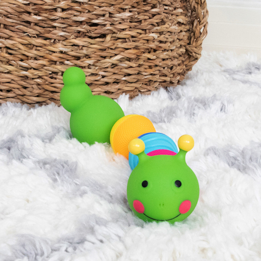 Fat Brain Toys Lalaboom Caterpillar Toy