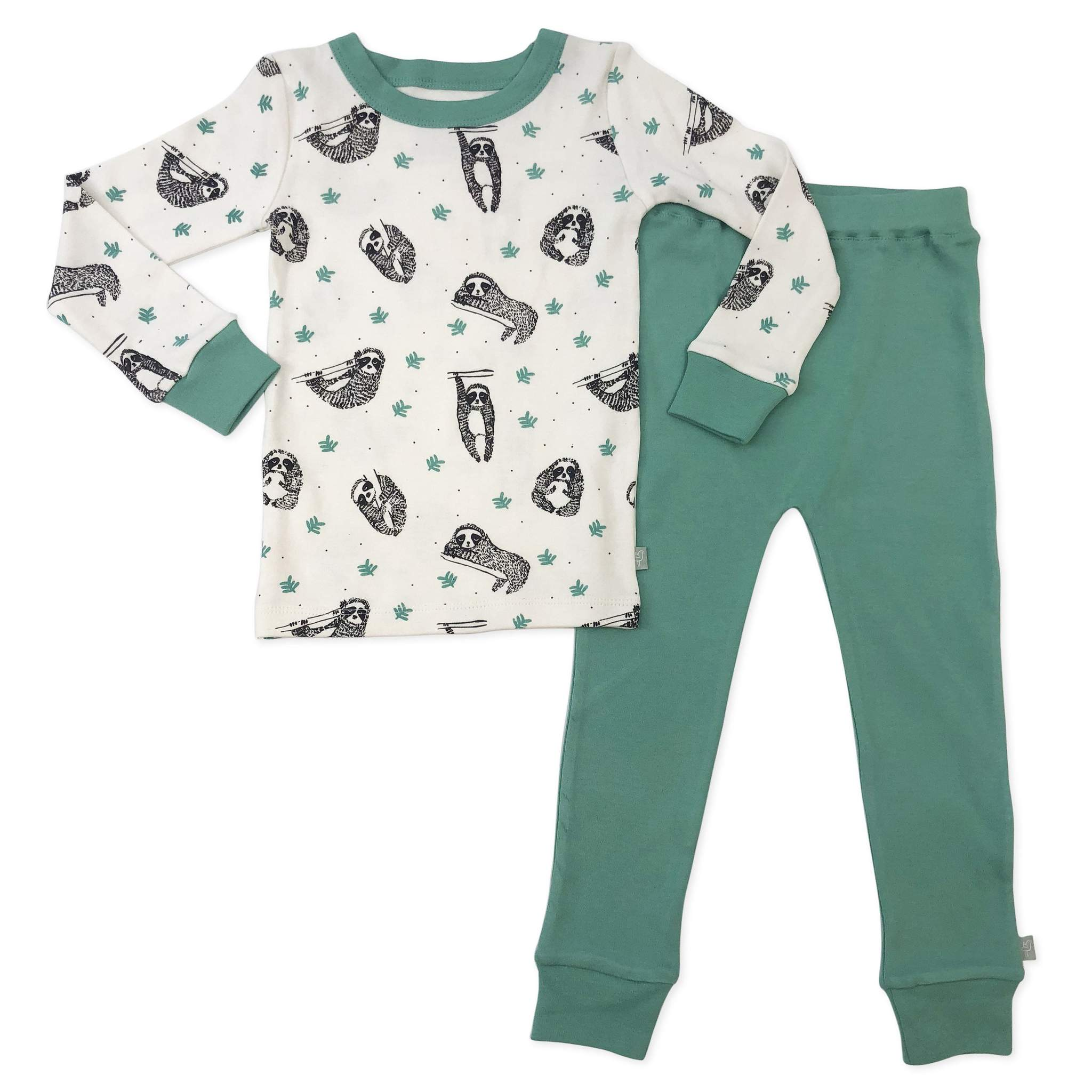 Finn + Emma Sloth Toddler Pajamas - 18-24 Months