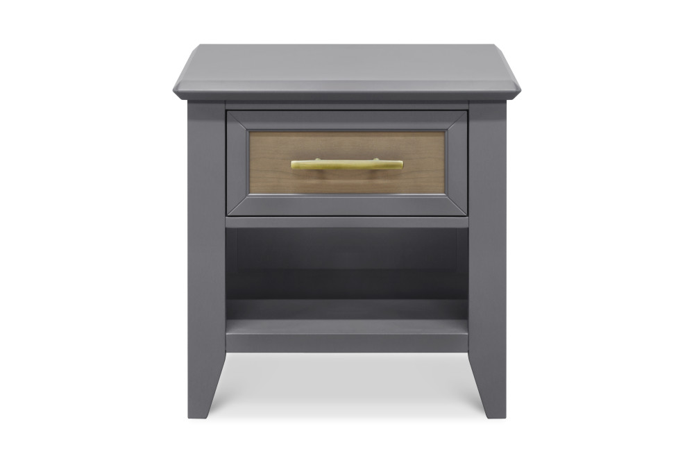 Franklin and Ben Beckett Nightstand - Stone and Ash