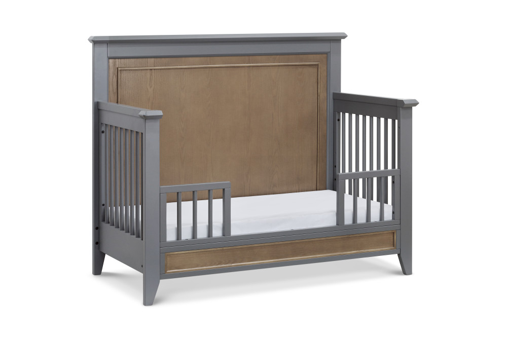 Franklin and Ben Beckett Toddler Guard Rail - Stone and Ash