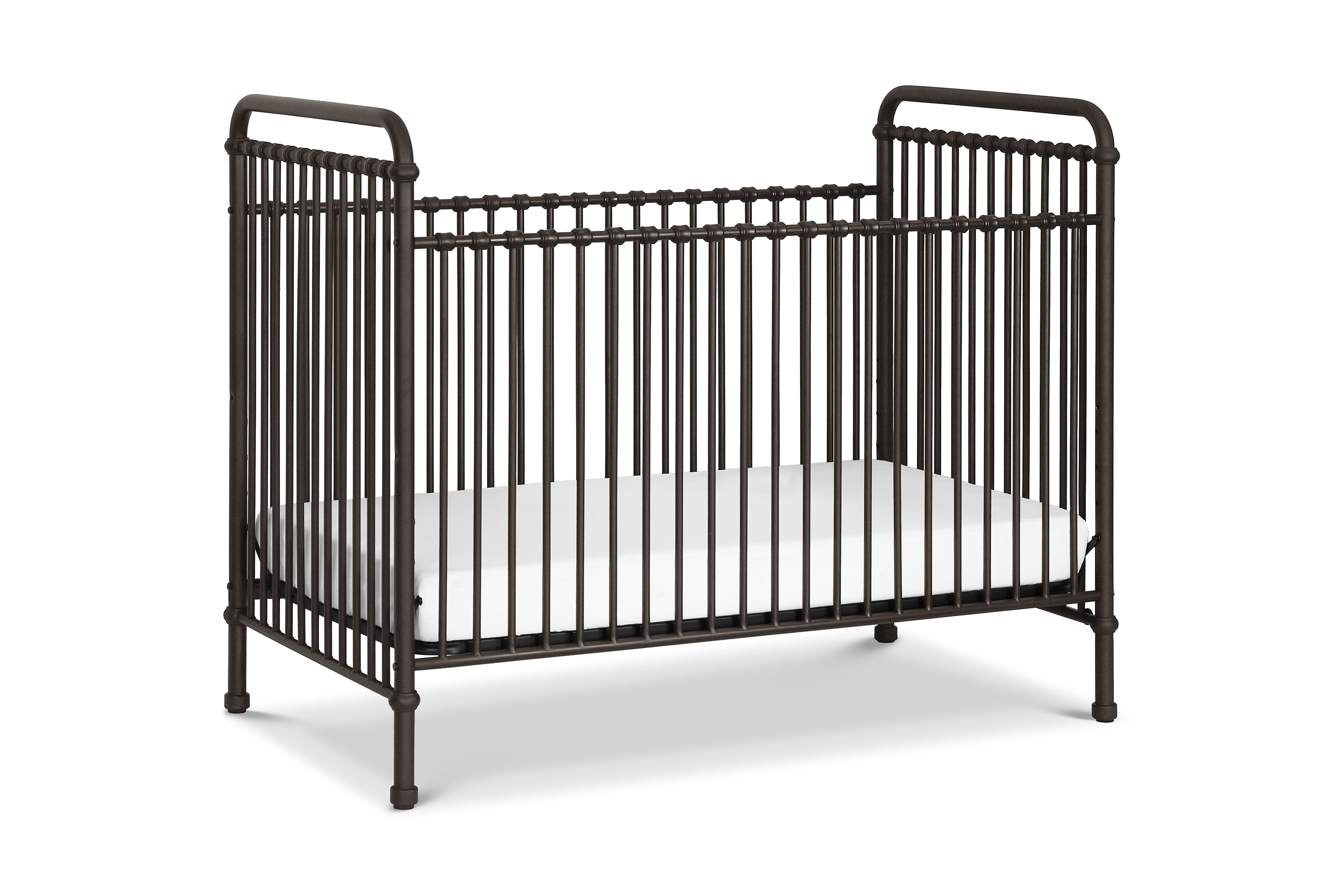 Franklin & Ben Abigail Metal Crib - Vintage Iron