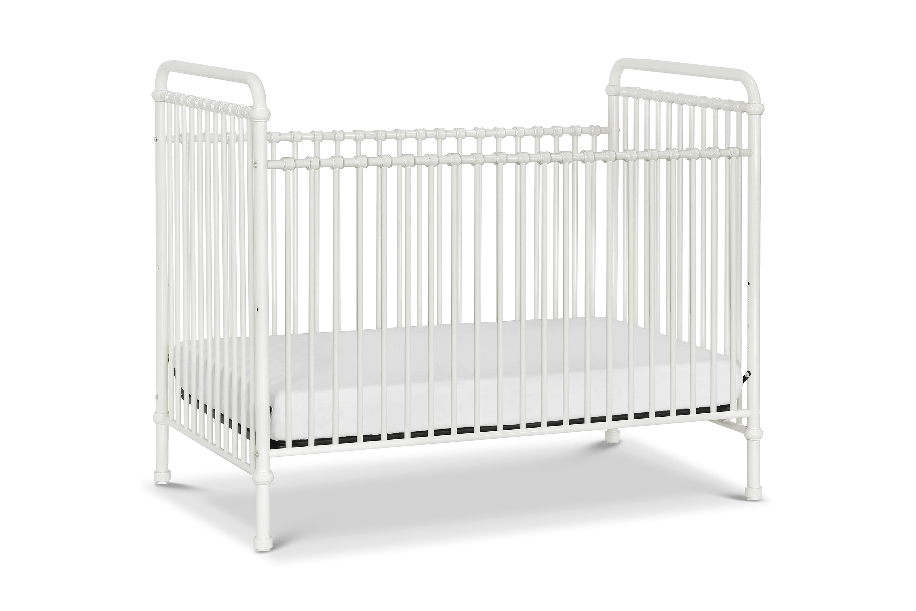 Franklin & Ben Abigail Metal Crib - Washed White