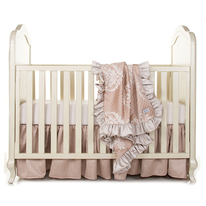 Glenna Jean Angelica 3 Piece Crib Bedding Set