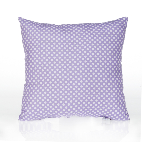 Glenna Jean Lilly and Flo Pillow, Purple Dot