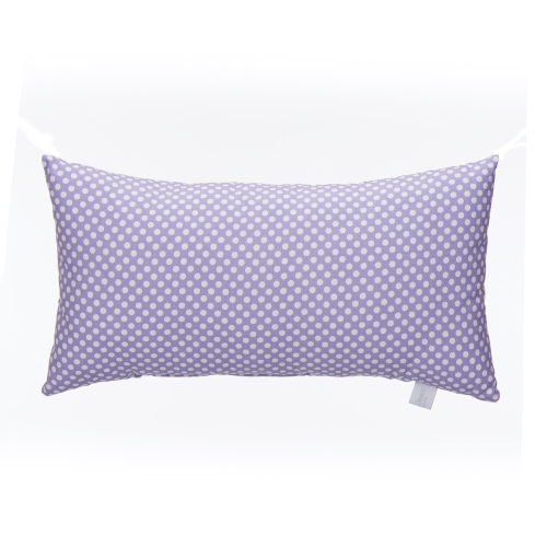 Glenna Jean Lilly and Flo Rectangular Pillow, Purple Dot