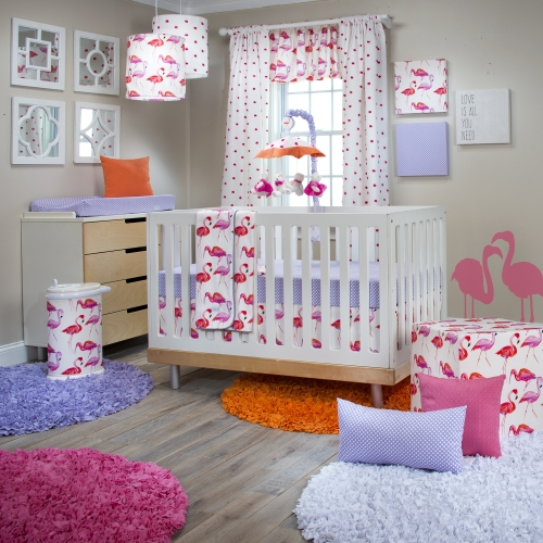 Glenna Jean Lilly and Flo 3 Piece Bedding Set