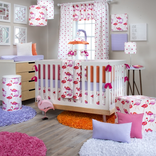 Glenna Jean Lilly and Flo 4 Piece Bedding Set