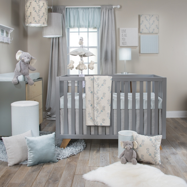 Glenna Jean Twiggy 3 Piece Crib Bedding Set