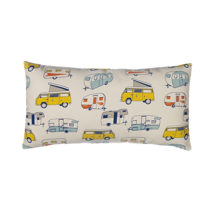 Glenna Jean Happy Camper Rectangular Pillow