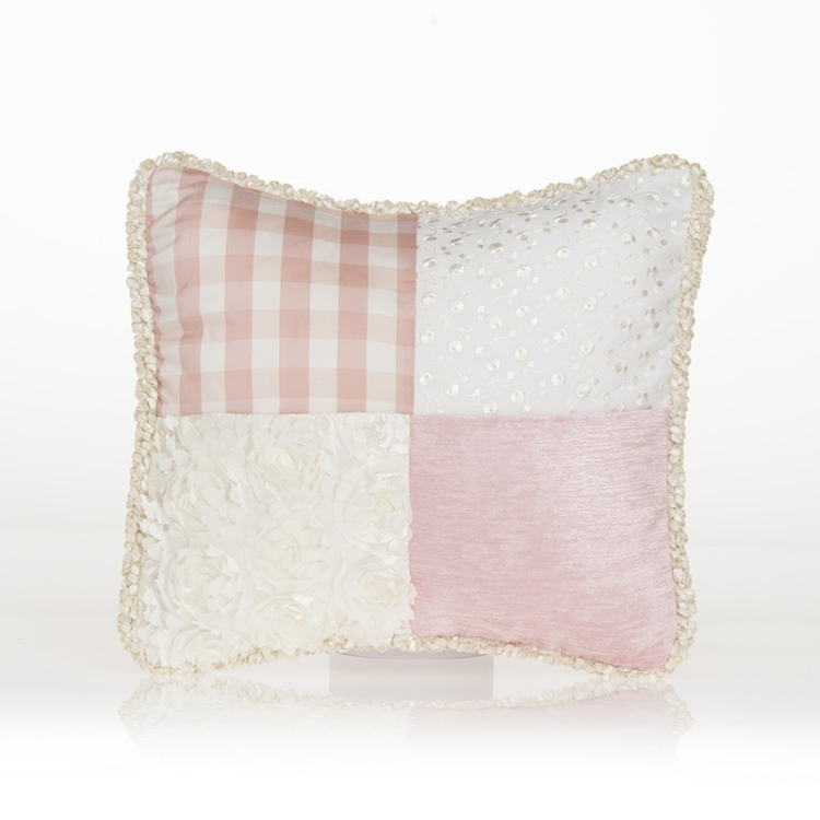 Glenna Jean Ella Patch Pillow