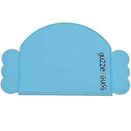 Guzzie and Guss Perch Silicone Place Mat - Blue