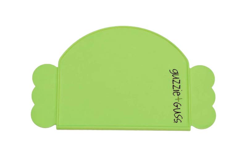 Guzzie and Guss Perch Silicone Place Mat - Green