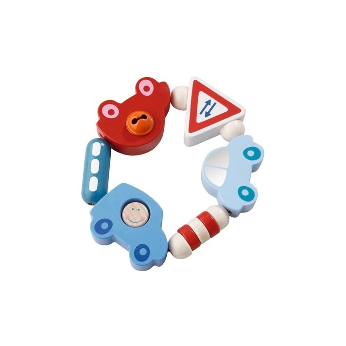 Haba Toot-Toot Wooden Clutching Toy