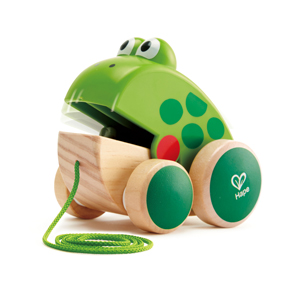 Hape Frog Pull Along Toy
