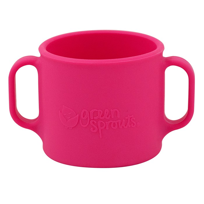 iPlay Green Sprouts Silicone Learning Cup in Pink