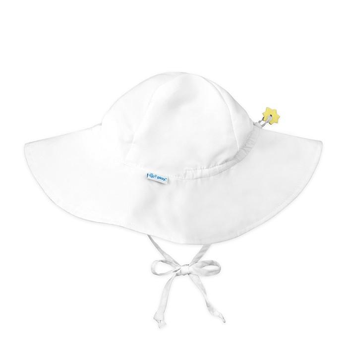 Baby white hat 0-6 months