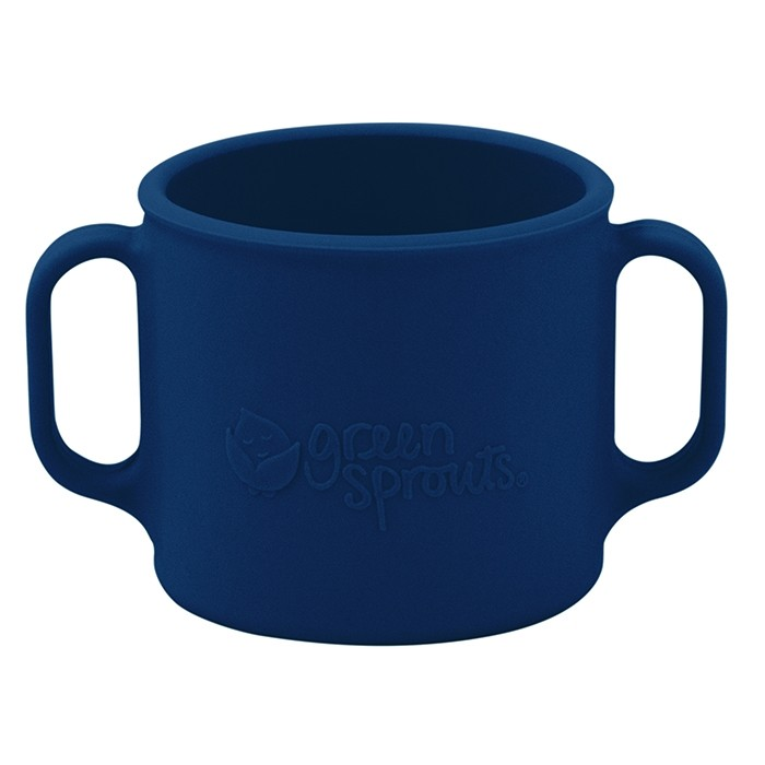 iPlay Green Sprouts Learning Cup in Navy