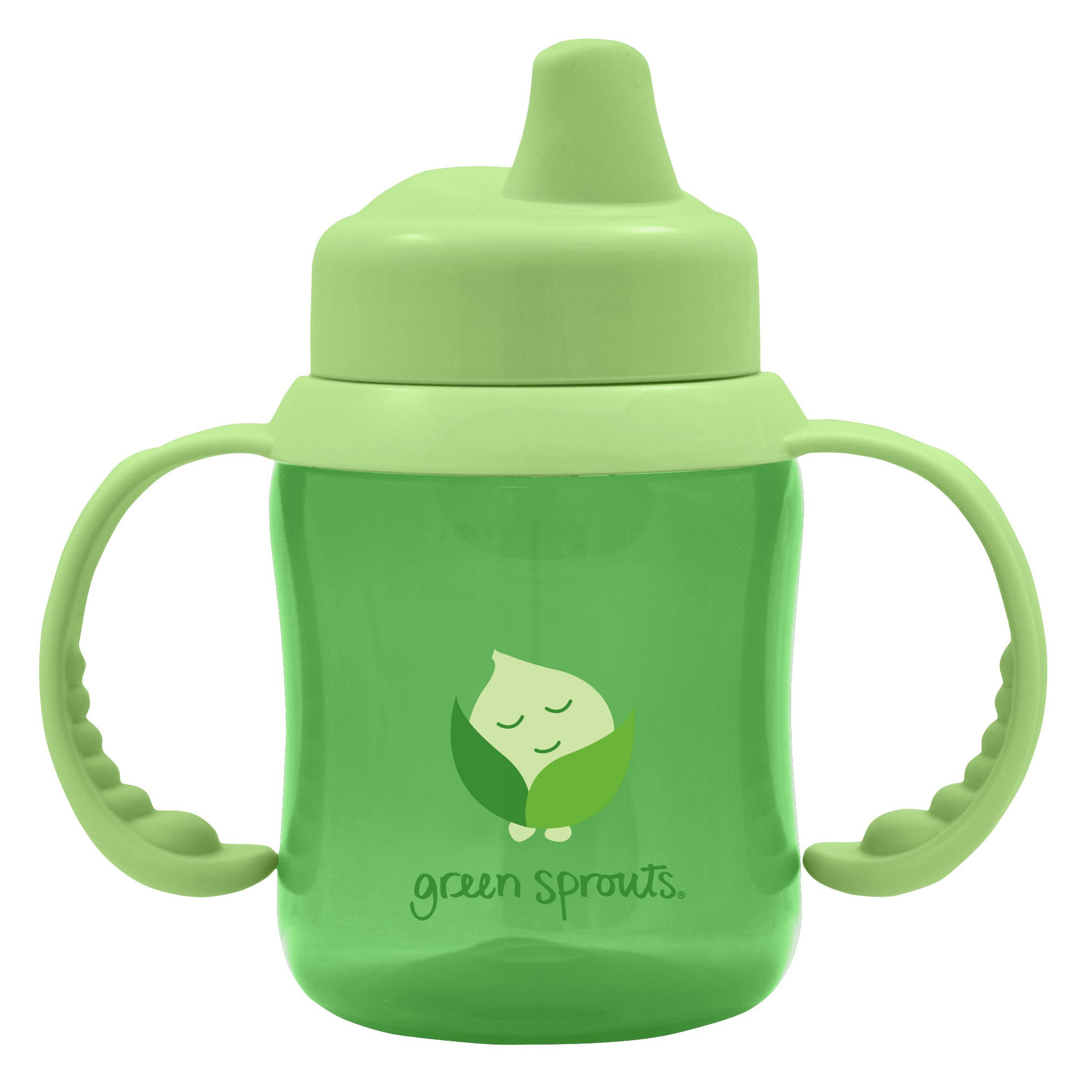 iPlay Green Sprouts Non-Spill Sippy Cup in Green