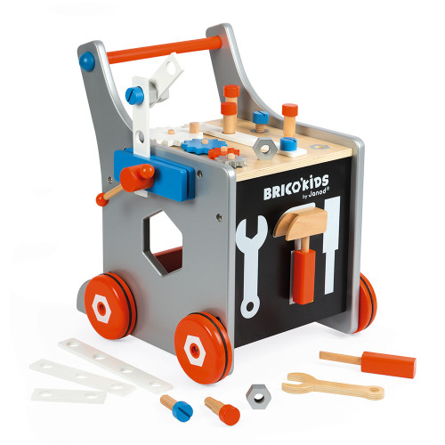 Janod Toys Brico Kids DIY Trolly