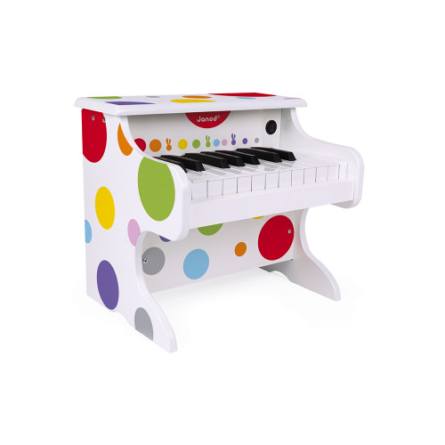Janod My First Confetti Electronic Piano