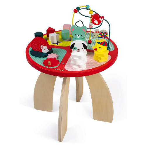 Janod Toys Baby Forest Activity Table