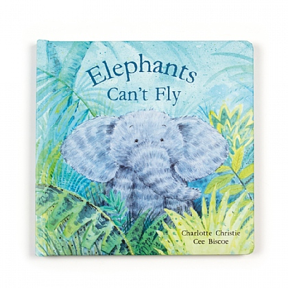 Jellycat Elephants Cant\' Fly Book