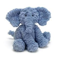 "Jellycat Fuddlewuddle Elephant 9"" Plush"