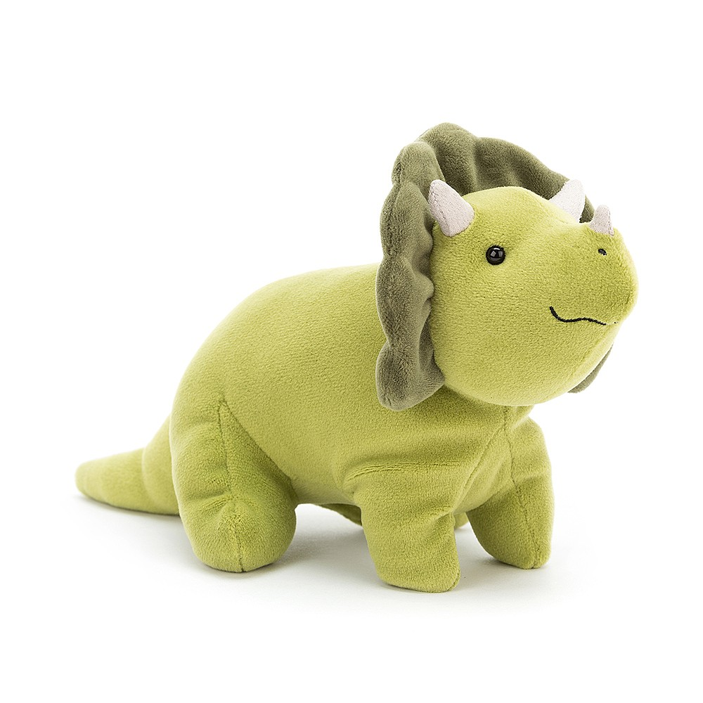 Jellycat Mellow Mallow Triceratops Small Plush