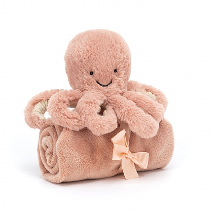 Jellycat Odell Octopus Soother Blankie