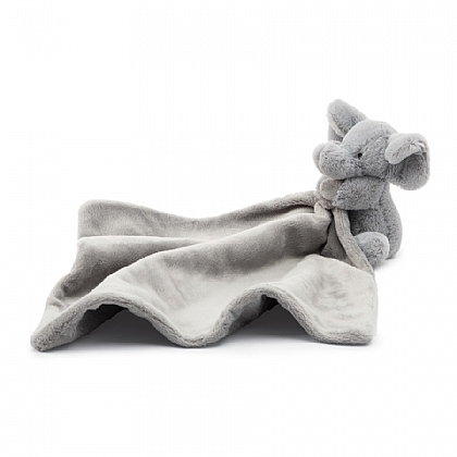 Jellycat Bashful Elephant Soother in Grey