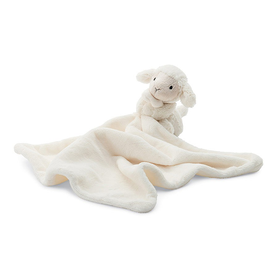 Jellycat Bashful Lamb Soother Blankie