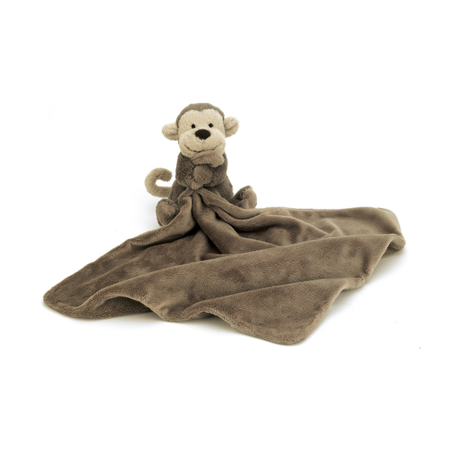 Jellycat Bashful Monkey Soother Blankie