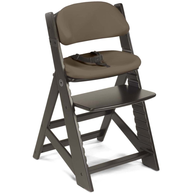 Keekaroo Height Right Chair, Cushion, Espresso / Chocolate