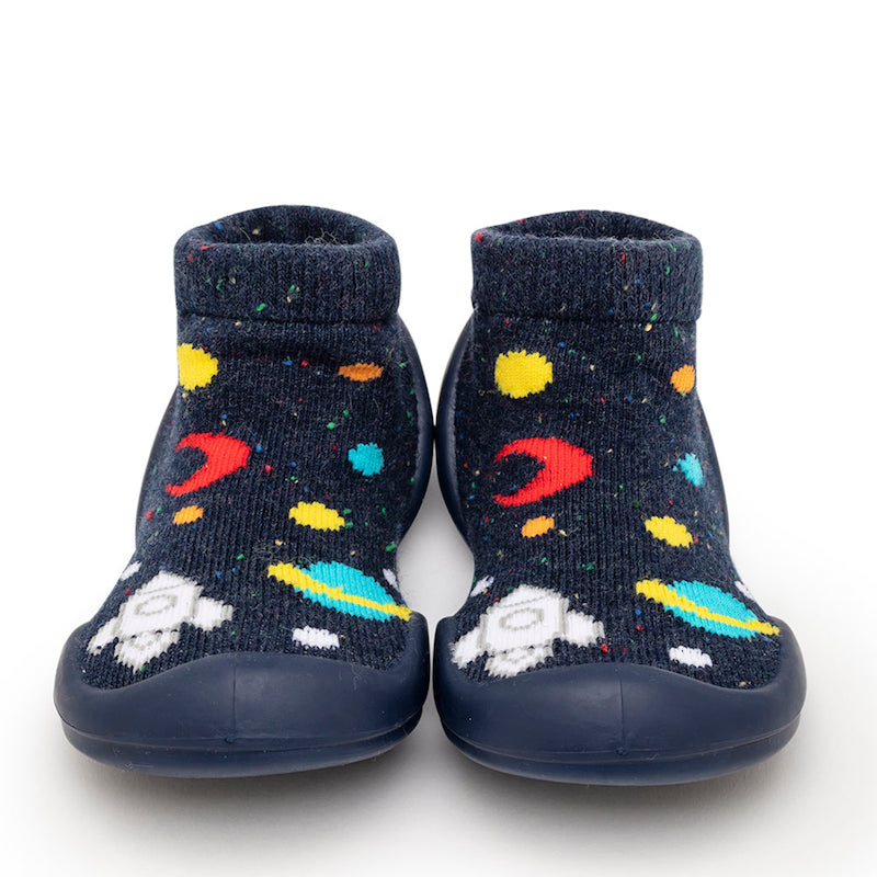 Komuello Baby Shoes in Galaxy