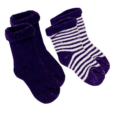 Kushies Newborn Socks - Navy