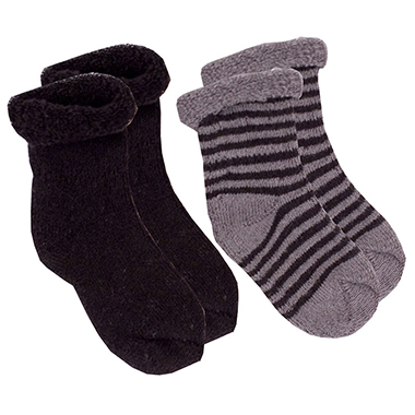 Kushies Newborn Socks - Black
