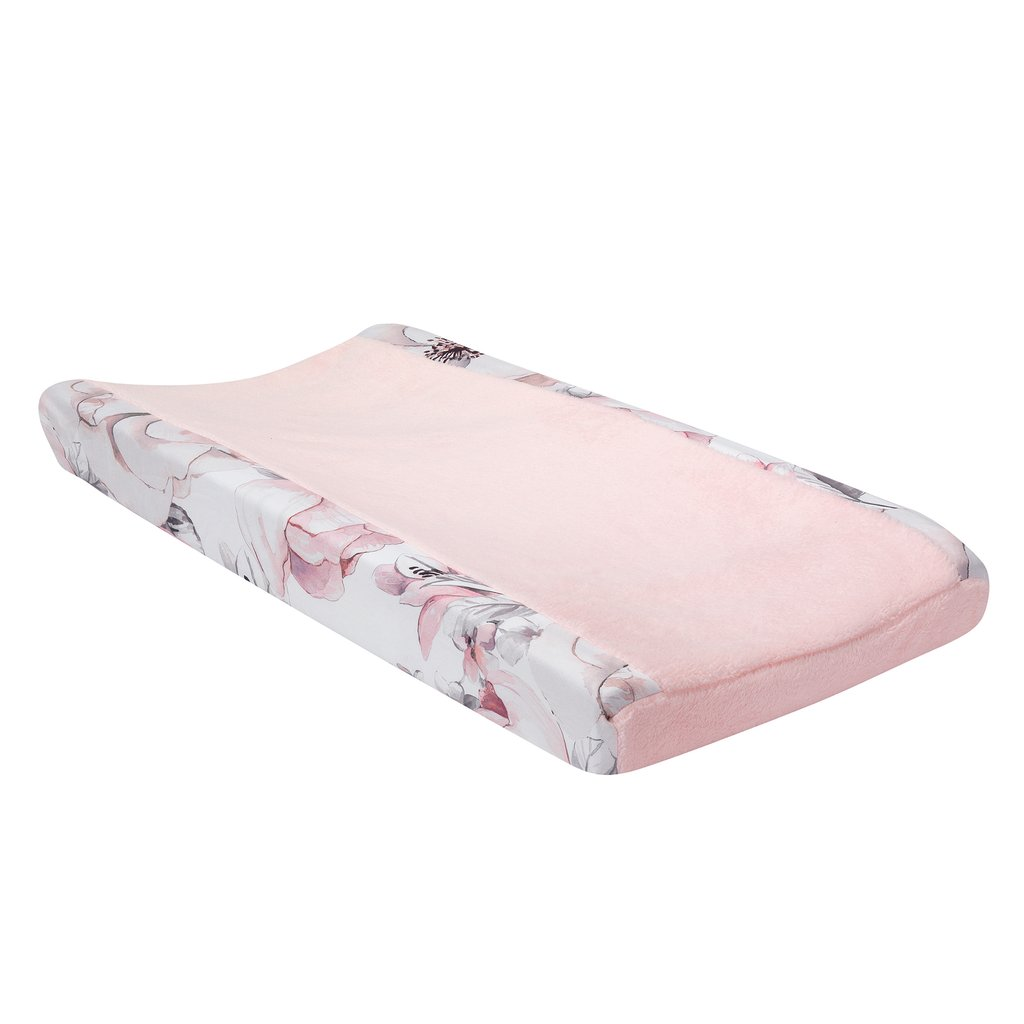Lambs & Ivy Signature Botanical Baby Changing Pad Cover