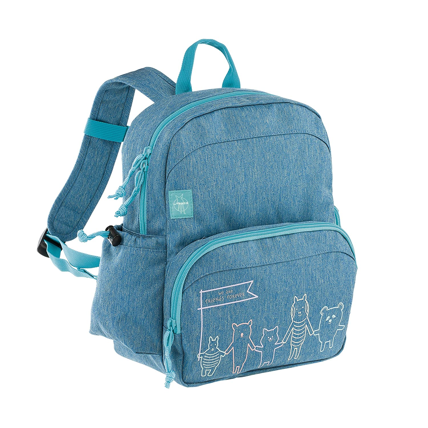 Lassig About Friends Medium Backpack Blue