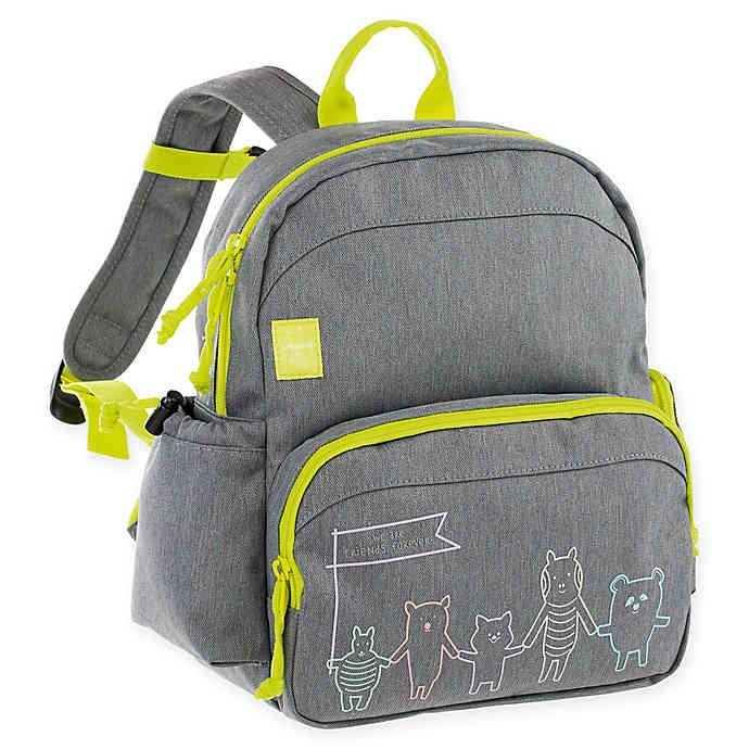 Lassig About Friends Medium Backpack Grey