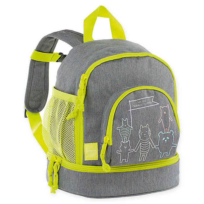 Lassig About Friends Mini Backpack - Grey