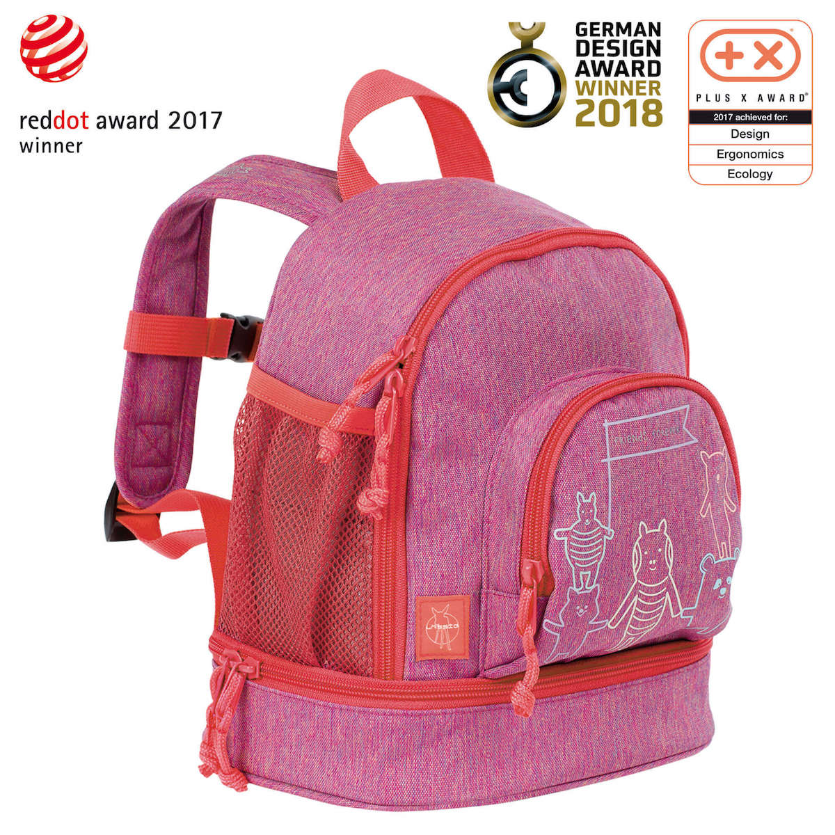 Lassig About Friends Mini Backpack - Pink