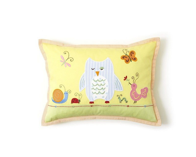 The Little Acorn Forest Friends Pillow